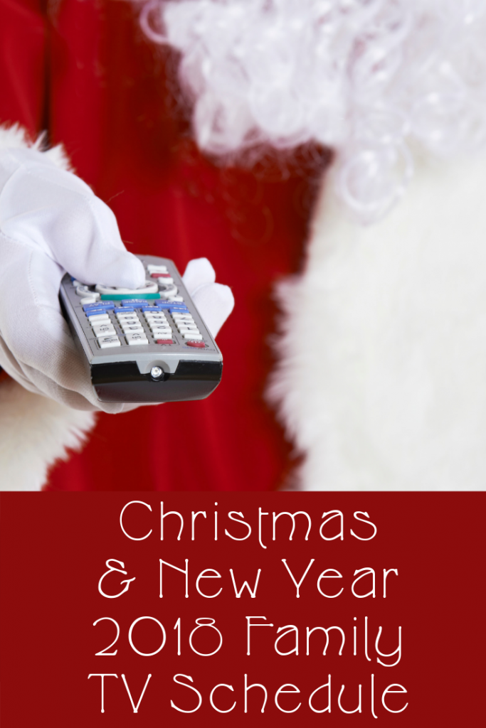 Christmas and New Year 2018 family TV guide. A handy children's and family films and TV schedule. What's on and what to watch on TV over Christmas 2018 #TV #ChristmasTV #FamilyFilms #ChildrensFilms