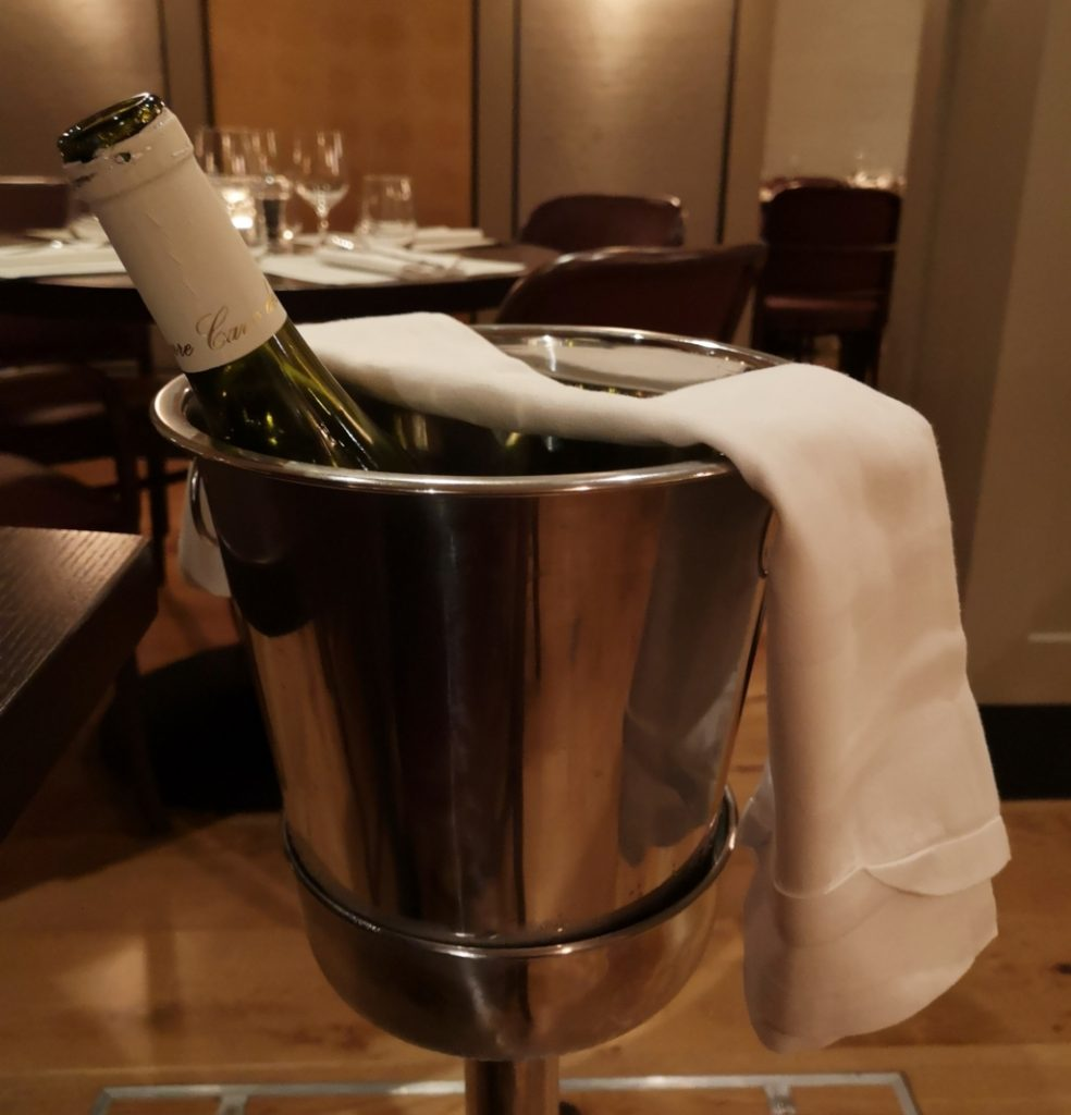 Sancerre white wine Cote restaurant maidstone review