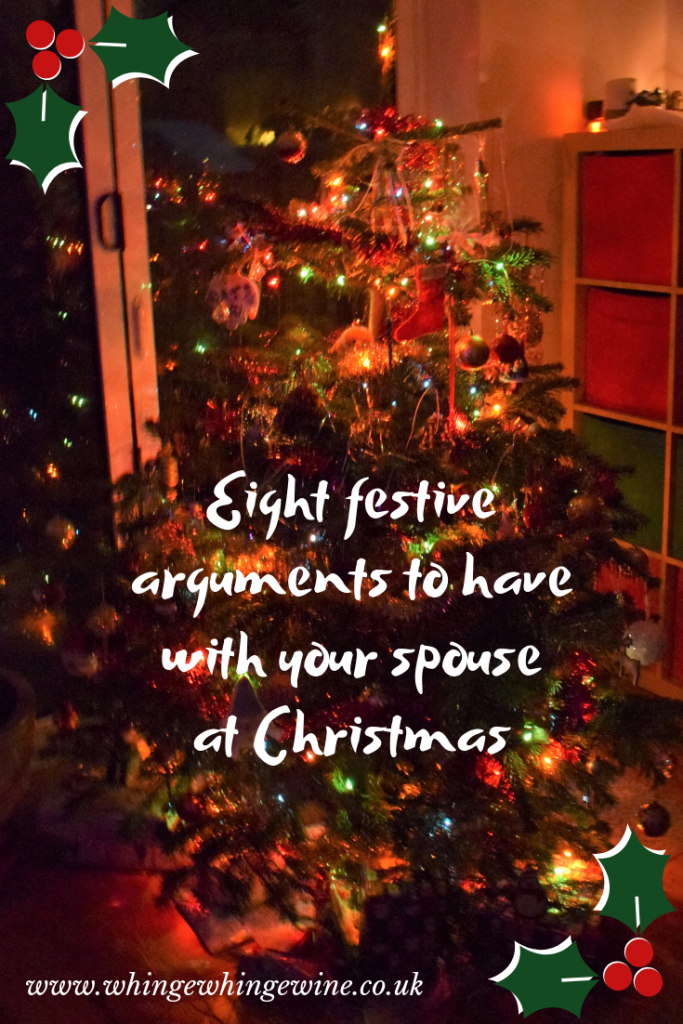 Eight festive arguments to have with your spouse at Christmas #marriedlife #christmas #momhumor #parenting #funnyparents #marriage #parents #mumlife #momlife #mumhumour #parentlife