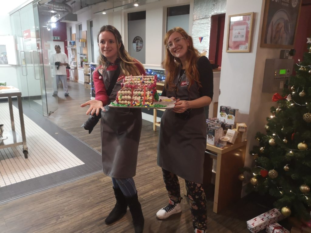 Currys PC World Gingerbread house bake off Neff