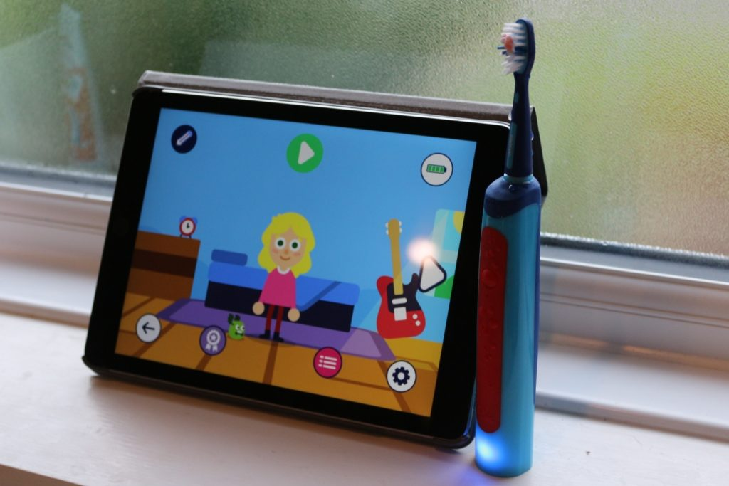 Playbrush - Children's toothbrush with app review
