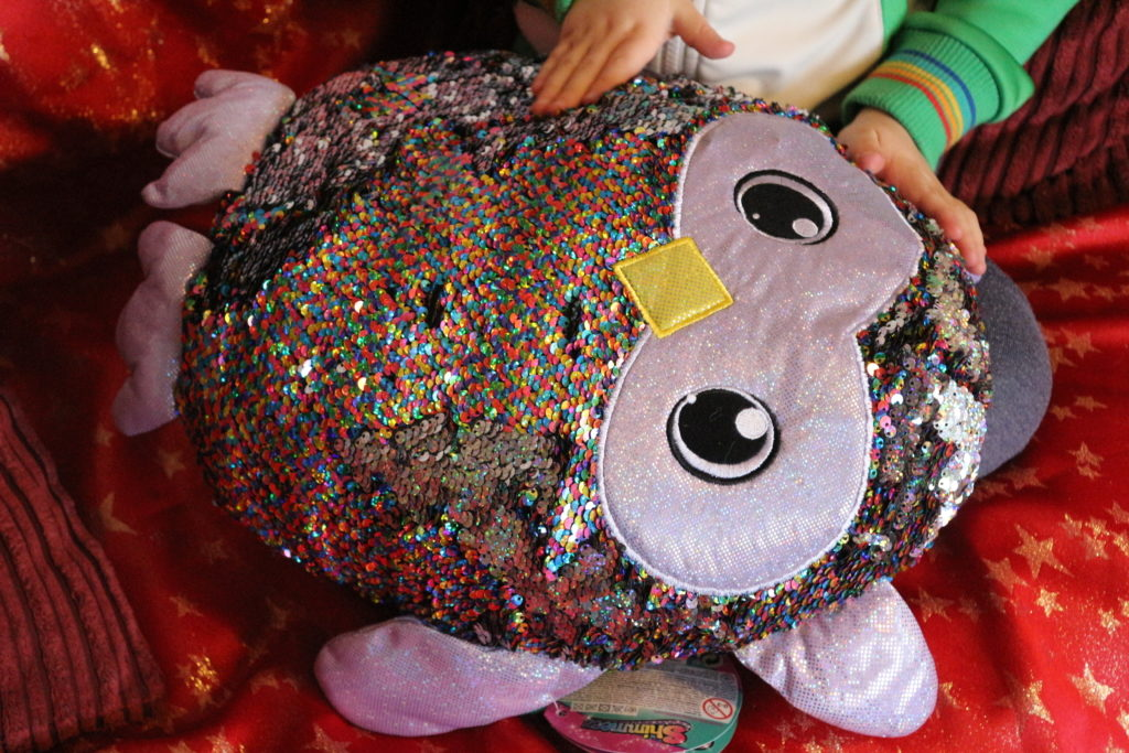 Shimmeez soft toy reversible sequins review (30)