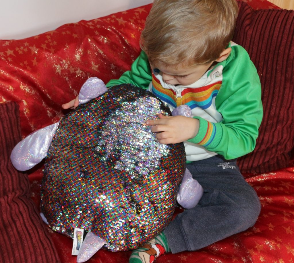Shimmeez soft toy reversible sequins review (38)