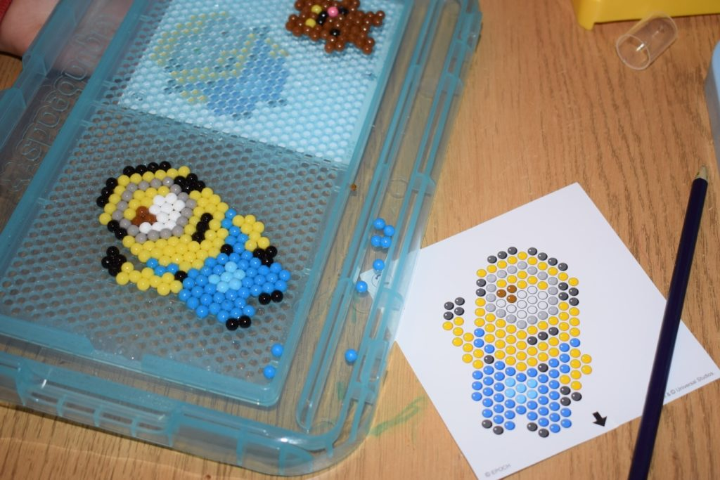 Aquabeads Minions Playset review Despicable Me