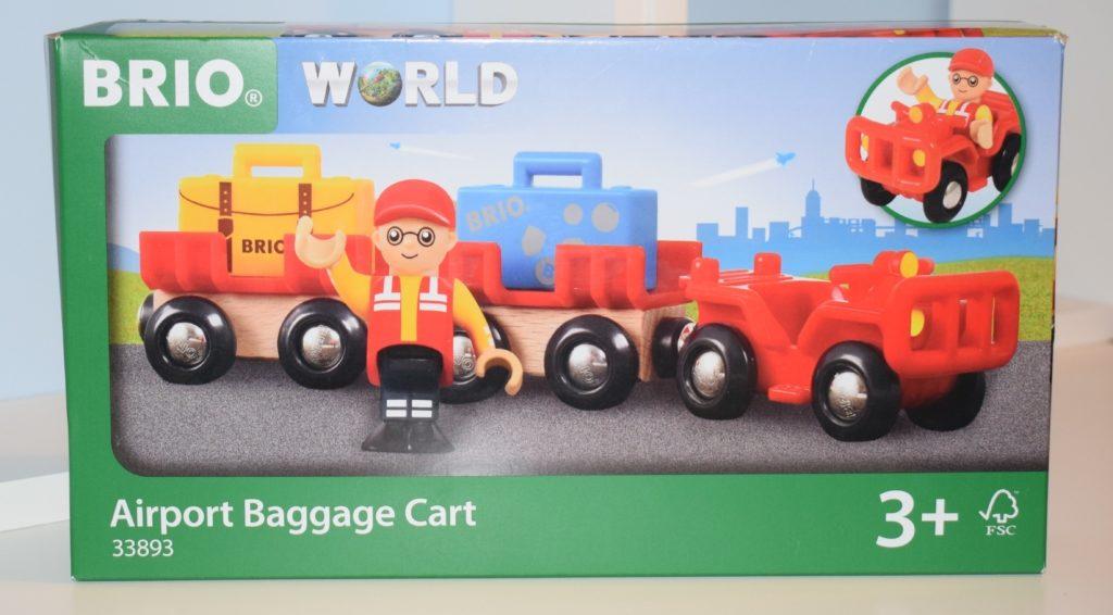 Brio World Airport Baggage Cart