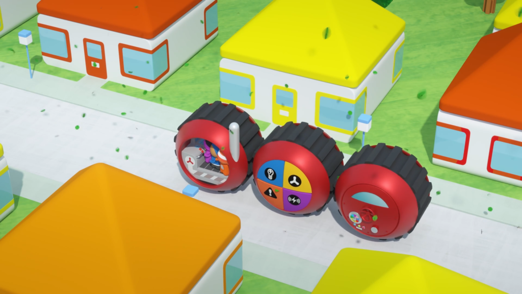 Tinpo New episodes of the problem-solving animation for CBeebies