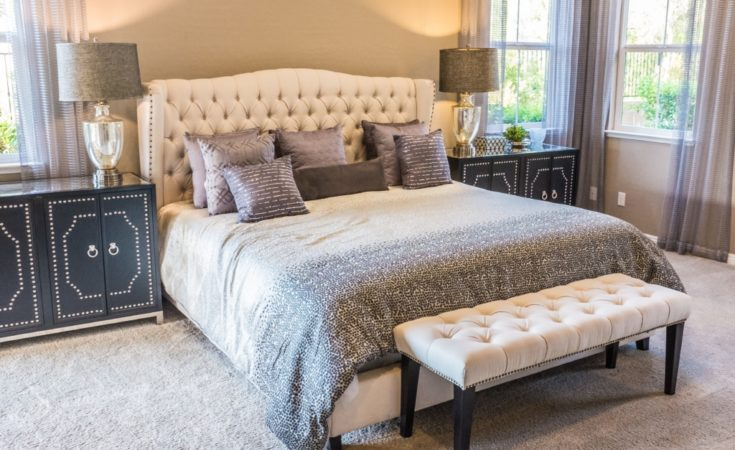 Bed headboard bedroom