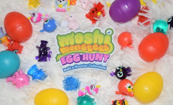 Moshi Monsters EGG HUNT build a monster collection