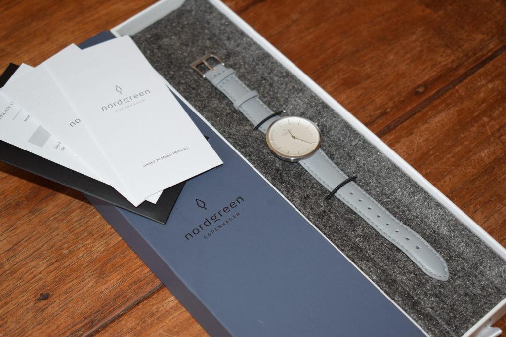 Nordgreen minimalist ladies watch review - Infinity silver grey strap (13)