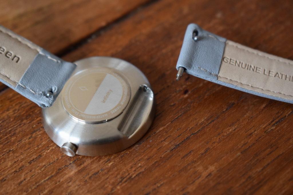 Nordgreen minimalist ladies watch review - Infinity silver grey strap (3)