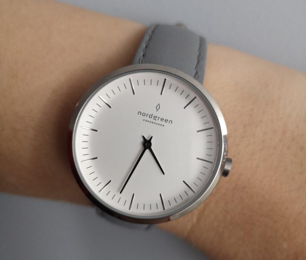 Nordgreen minimalist ladies watch review - Infinity silver grey strap