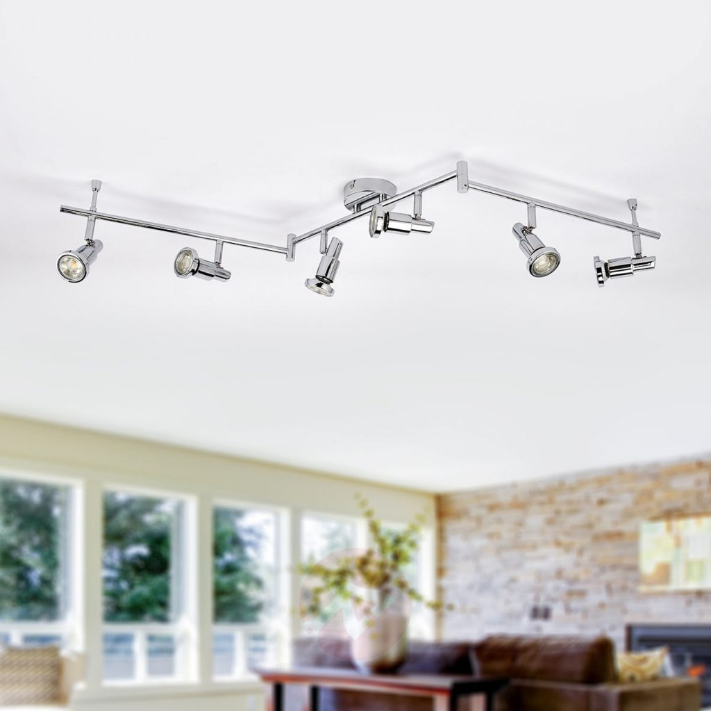 LED Ceiling lights for the kitchen from lights.co.uk