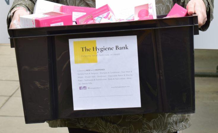 The Hygiene Bank charity Tonbridge