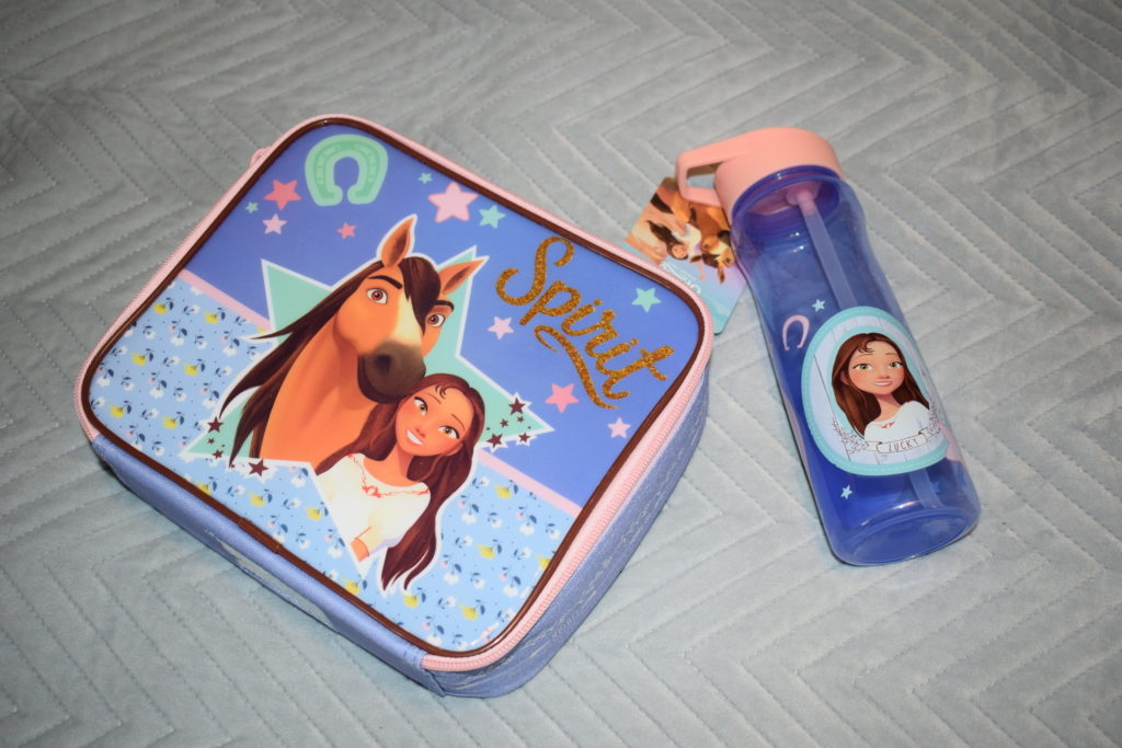 Spirit Riding Free series 8 Netflix horses lunch box and water bottle