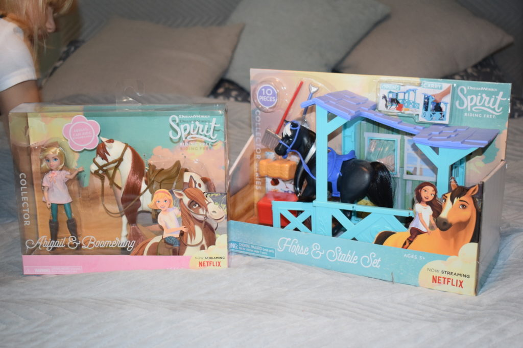 Spirit Riding Free series 8 Netflix horses toys from flair