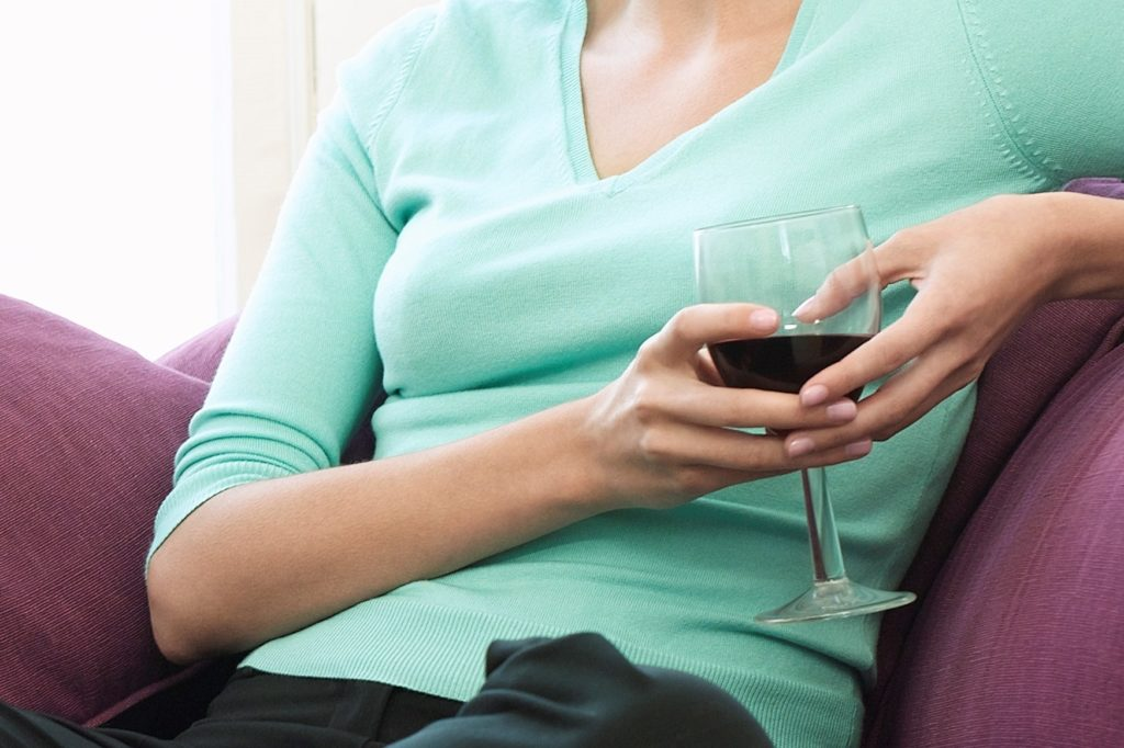 Drinking wine - 12 signs you're doing better at parenting than you think