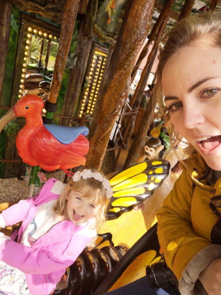 Drusillas park new Rainforest Carousel ride (82)