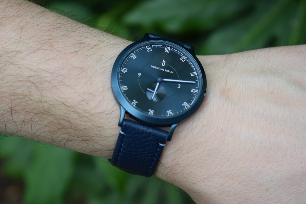 Lilienthal Berlin L1 'All Blue' men's watch review: Blue